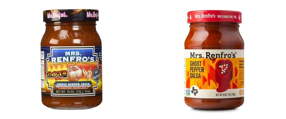 New  logo  and Packaging for Mrs. Renfro's