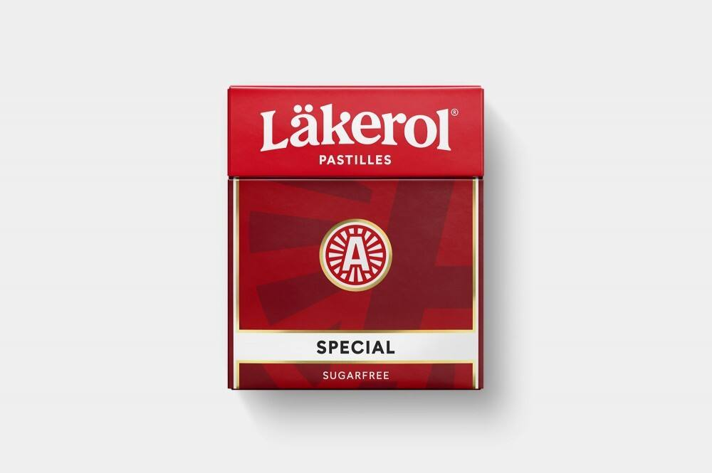 New  logo  and Packaging for Läkerol by NORD ID