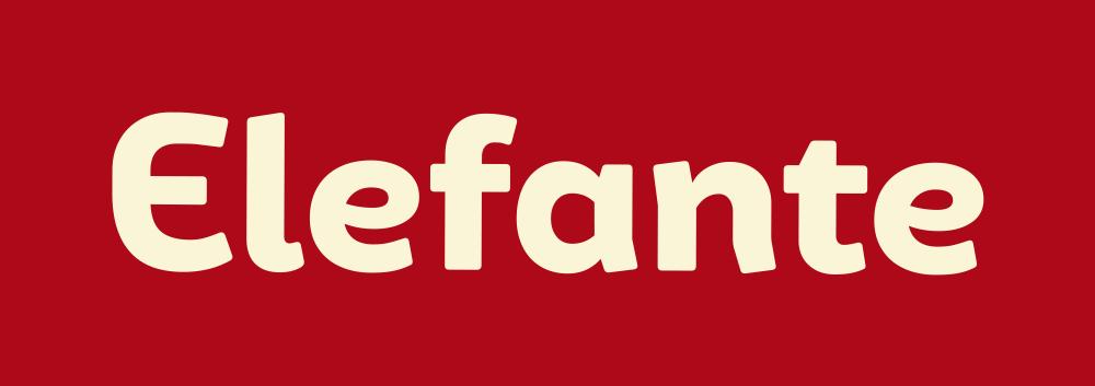 巴西番茄酱料食品公司Elefante品牌形象设计,logo设计