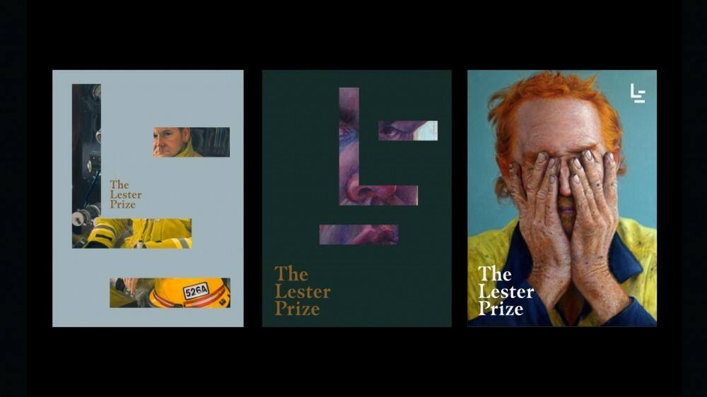 New Logo and Identity for The Lester Prize by Block