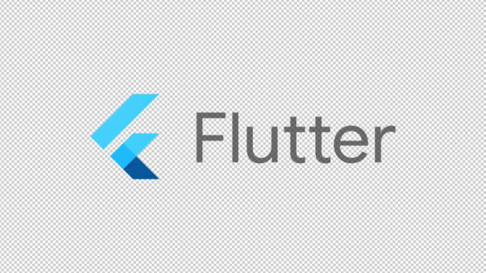 Flutter software logo