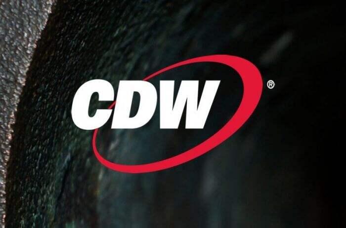 White CDW Logotype