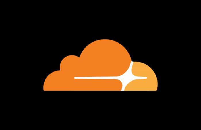 Cloudflare icon transparent