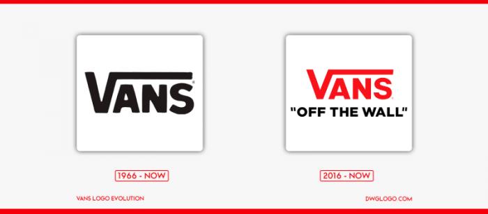 vans logo evolution